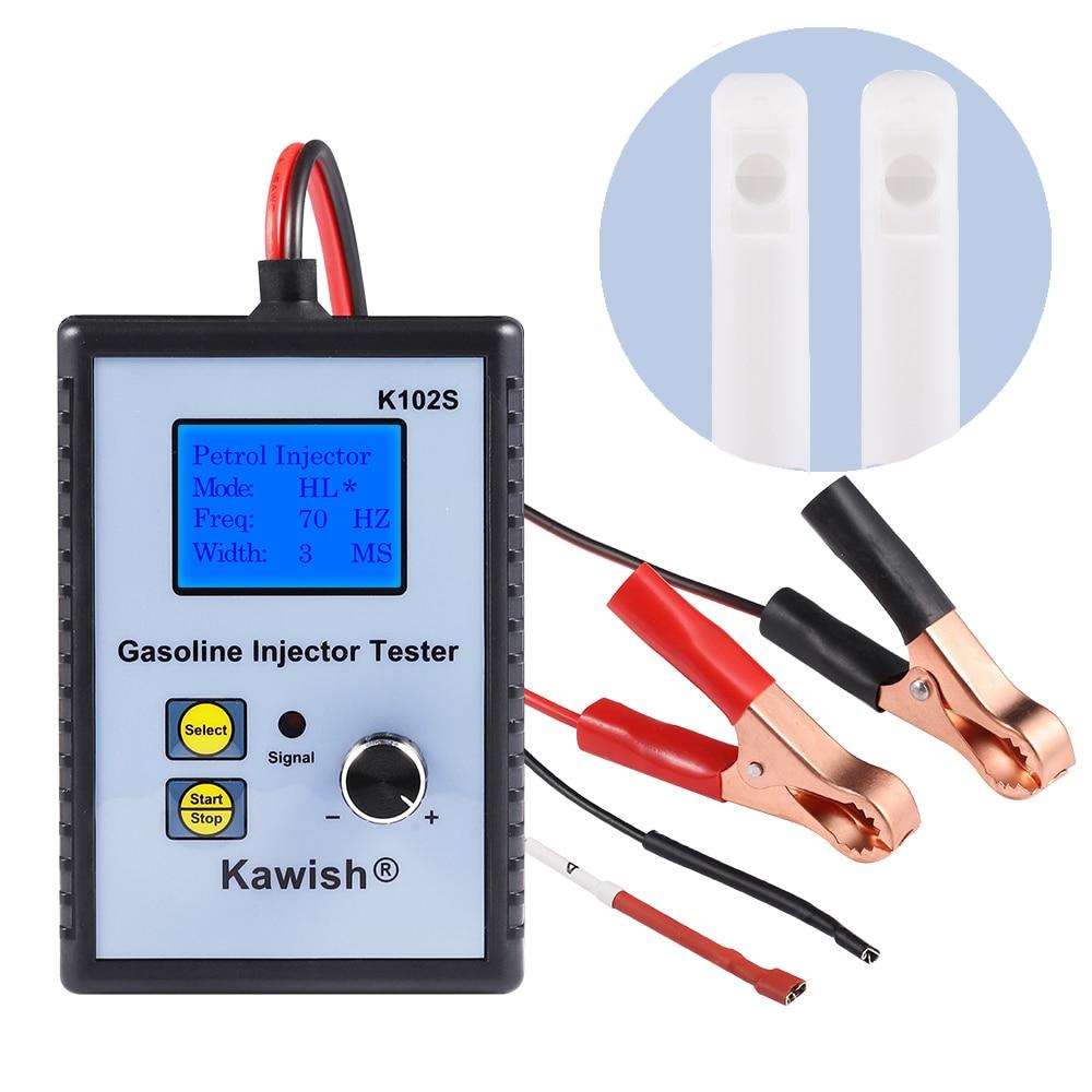 Профессиональный тестер бензинового инжектора, тестер топливного инжектора, мощный инструмент для сканирования топливной системы, тестер ...
