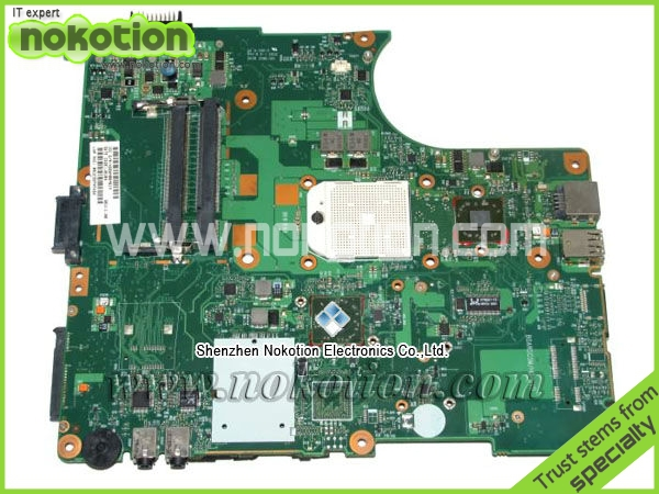 ФОТО V000138200 for Toshiba L300 laptop Motherboard 6050A2175001 AMD socket s1 DDR2 full Tested