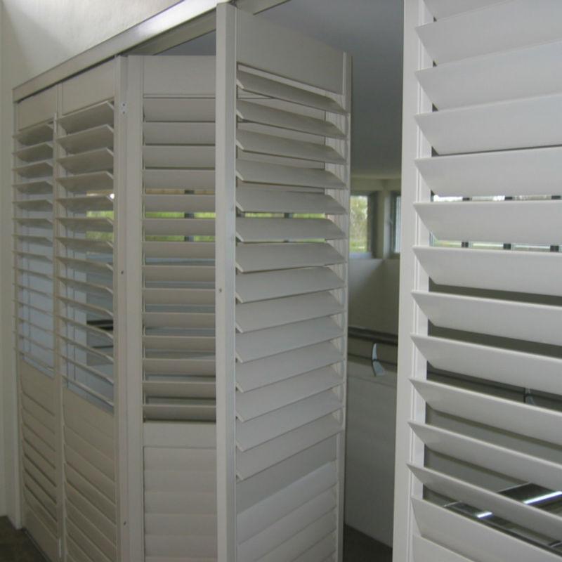 Export To Sydney Custom Wood White Horizontal Folding Exterior
