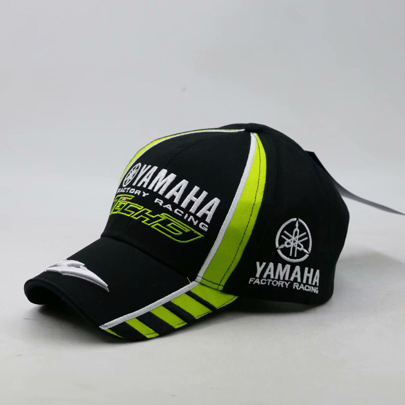 Famous Black Red Yamaha Embroidery Hat Car Moto GP moto Racing F1 Baseball Cap