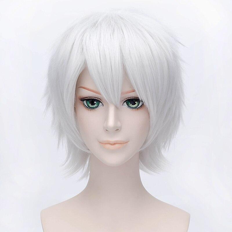 Anime Touken Ranbu Online Nakigitsune Wig Cosplay Costume ...