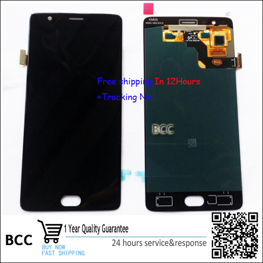 100 Original Warranty LCD Display Touch Screen Digitizer Assembly For Oneplus 3 1 3 A3000 a3003