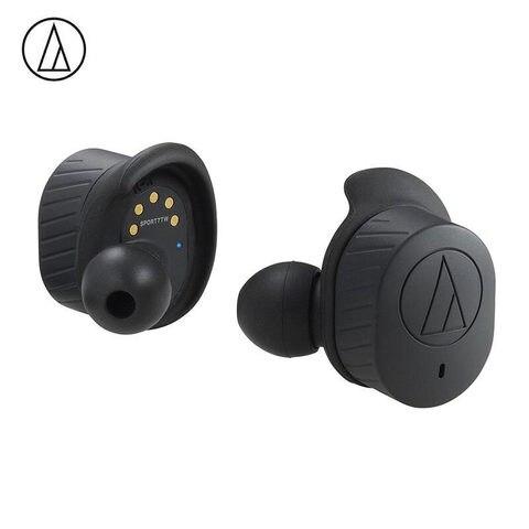 Fone de Ouvido sem Fio Fone de Ouvido Original Audio Technica Verdadeiro Bluetooth 5.0 Ipx5 Impermeável Esporte Ath-sport7tw