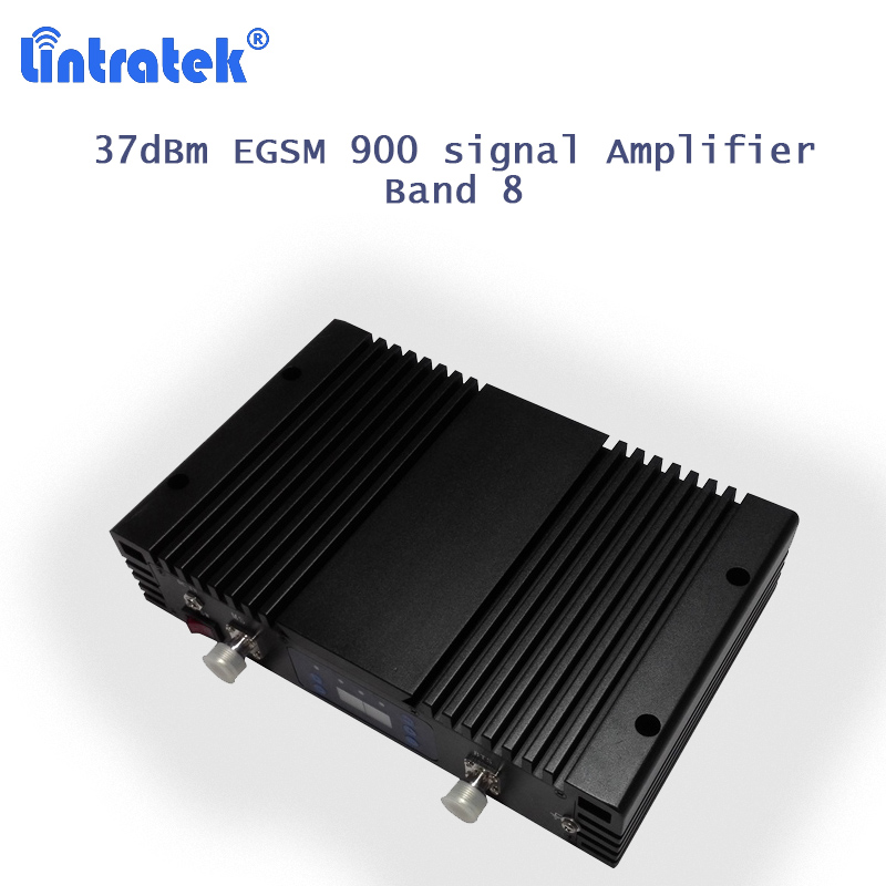 Amplificateur de E-GSM lintratek 85dB bande de Gain 8/880-960 répéteur de Signal celulaire amplificateur de Signal de téléphone portable egsm 900 mhz AGC MGC S35