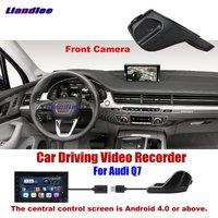Liandlee Novatek96655 Car DVR Front Camera Driving Video Recorder USB Plug For Audi Q7 Android Screen AUTO Dashcam Antiradar