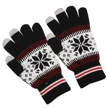 Fashion Winter Men Women Knitted Gloves Keep Warm Fitness Touchable Screen Glove For Mobile Phone iPad Tablet -OPK