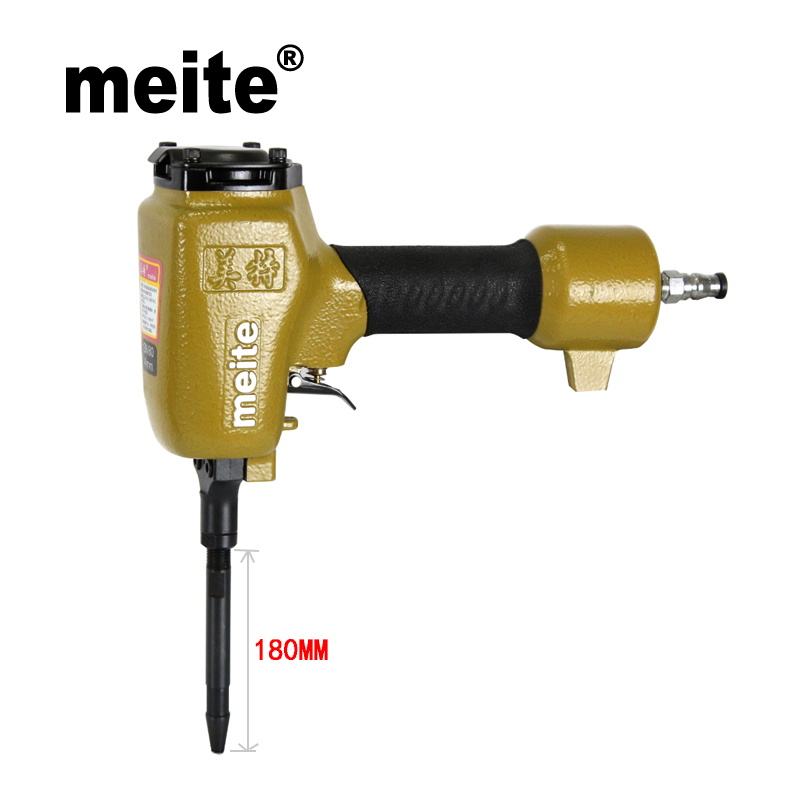 Meite SN180 shoe nailer pneumatic nailer shoe gun professional nail gun for making heel and sole nozzle 4mm May.5th Update tool top quality cn100 pneumatic coil nail gun coil nailer japanese quality standard max design