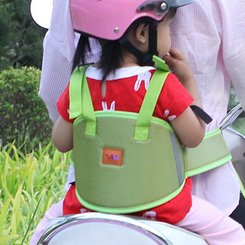 Nouveauté enfants moto pour enfant ceinture de sécurité réglable véhicule électrique Scooter sangle de sécurité transporteur enfant ceinture de protection