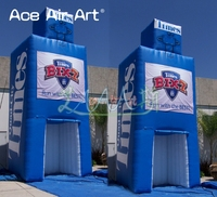 Nesly style Inflatable News Stand Alcove/trade show booth,foods shop,stall promotional booth/refreshment stall for advetising