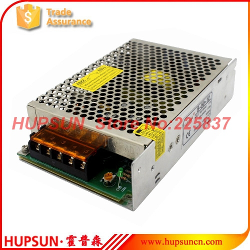 50w S-50 AC to DC 220v 5v 10a 12v 24v switching power source supply LED driver good quality w/ overload protection free shipping