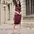 2017 RUIYIGE New Arrival Bodycon plus size Sleeveless Sexy party Office Women Summer pencil tunic Dress Club vestidos