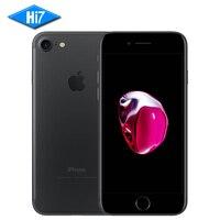 Новые оригинальные Apple iPhone 7 мобильный телефон 2 ГБ Оперативная память 32 ГБ Встроенная память iOS 10 12.0mp 4 ядра отпечатков пальцев Марка 4 г LTE сот