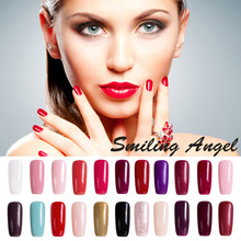 Smiling Angel 7.3ml Soak-off Nail Gel Polish Charming Women Sweet Girl Long-Lasting UV Nude Nail Gel Vernis Semi Permanent 2