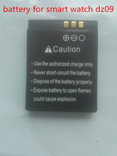 Hot Original rechargeable Li ion Battery For font b Smart b font Watch dz09 font b