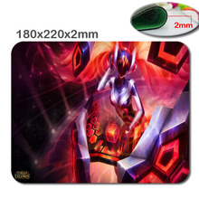 HD DIYTwo sort of dimension to decide on customgaming mouse LOL league of legends Mouse Pad, Mousepad in180x220x2mm and 290x250x2mm