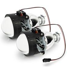 2 шт. WST 2.5 дюйма bi xenon объектив H4 H7 Биксенон объектив проектора H1 H11 9005 9006 автомобиля мотоцикла HID проектор линзы Фар
