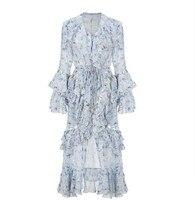 2019 New arrive Women's light blue Dress