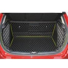 Lsrtw2017 Durable Waterproof Leather Car Trunk Mat Gloor Mat for Kia Kx Cross lsrtw2017 durable waterproof leather car trunk mat gloor mat for kia kx cross