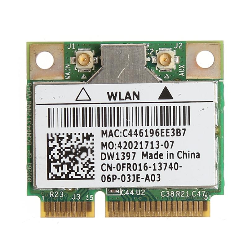 GroßZüGig 54 M Wireless Wifi Mini Pci-e Karte Für Dell Dw1397 0kw770 Broadcom Bcm94312hmg2l Dinge Bequem Machen FüR Kunden Networking