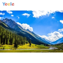 Yeele Landscape Forest Mount Cloud Nice Sky River Photography Backdrops Personalized Photographic Backgrounds For Photo Studio