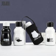 JOUDOO Creative Stainless Steel Bottle Insulating Cup With Bag For Child Water 160ML Cute Outdoor Vacuum Flasks&Thermoses 35