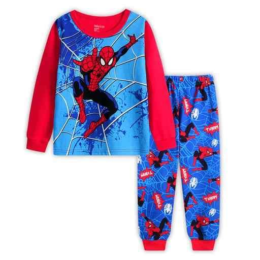 4b2bca821a 2-7 yrs boys girls pijamas cotton children pyjamas sleepwear baby kids  pajama set spider man