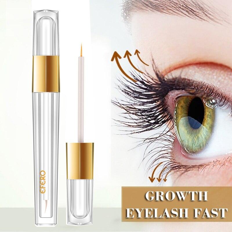 EFERO Eyelash Growth Eye Serum Eyelash Enhancer Eye Lash Serum Treatment Eye Lashes Extensions Mascara Thicker Longer Eye Makeup