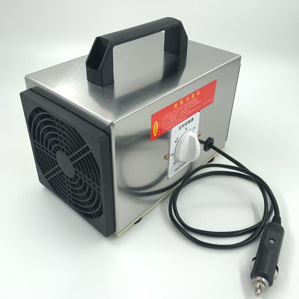 12V 10g/h car home ozone generator ozonator machine air purifier filter deodorizer-in Air