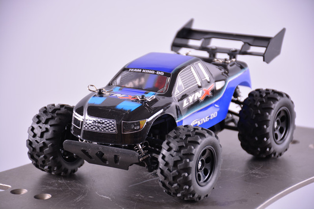4WD 1/24 Мини Электрический Monster Truck Высокая Скорость Поднять Голову 2.4 Г Модель Дистанционного Управления