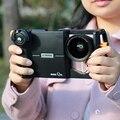 E-imagen Magia Q30 Cámara Rig Kit de Montaje de La Lente Del Teléfono Teléfono de Engranajes con 37mm de la lente de rosca/filtro de montaje para la cámara de iphone plus 7