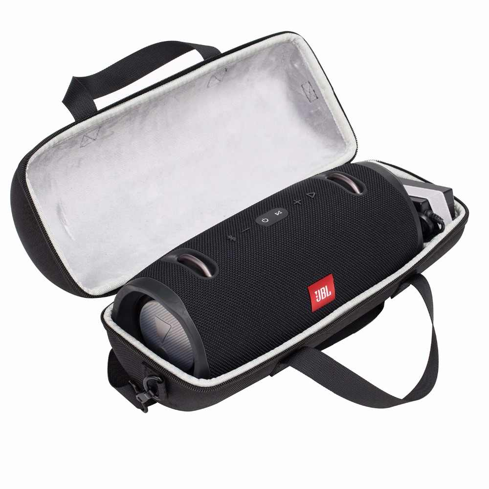 Najnowszy EVA przenośny sakiewka pokrywa torba do przechowywania przypadku dla JBL Xtreme/Xtreme 2 głośnik bluetooth-dodatkowej przestrzeni dla Plug i kable