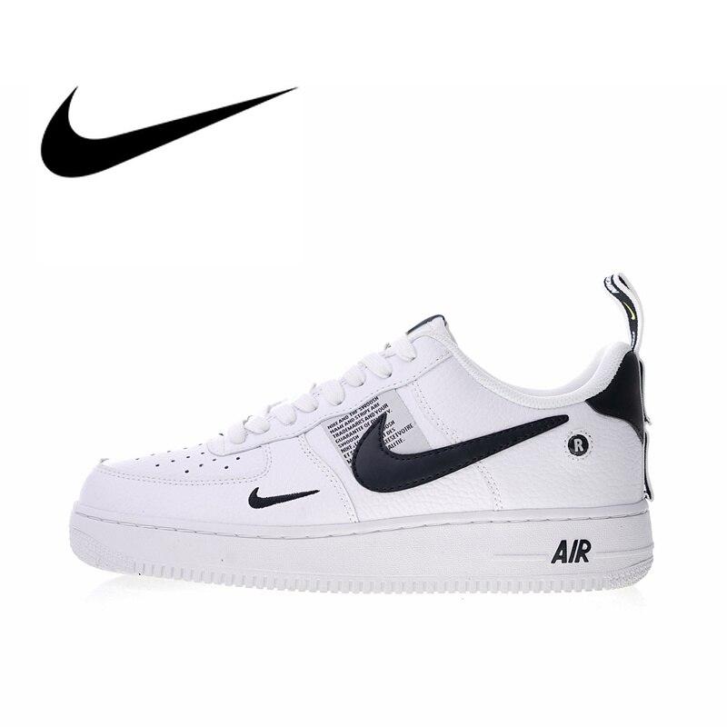Original Et Authentique Nike Air Force 1 07 LV8 Pack Utilitaire Hommes de chaussures pour skateboard Sneakers Athletic Chaussures De Créateurs 2018 Nouveau