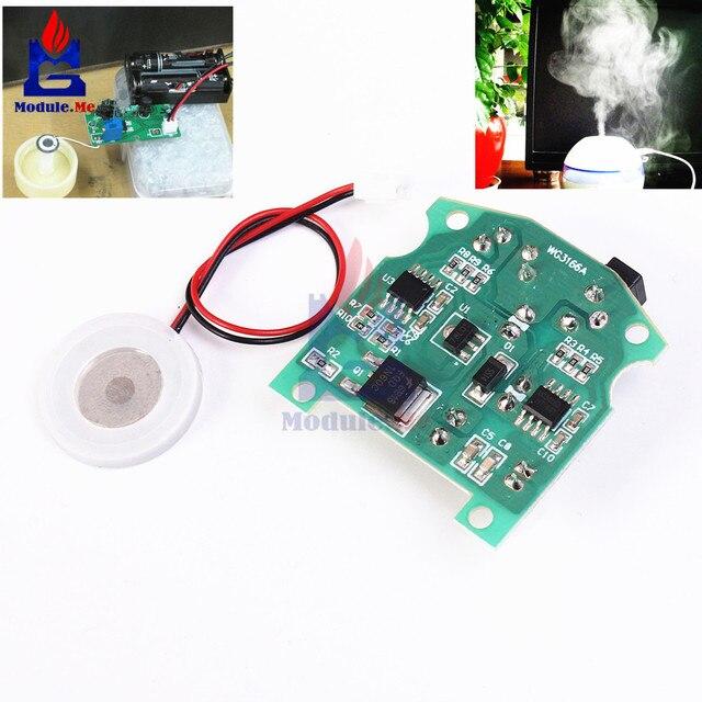 20mm 113 KHz humidificateur à ultrasons brumisateur USB en céramique atomiseur transducteur humidifié plaque accessoires + Module PCB D20mm