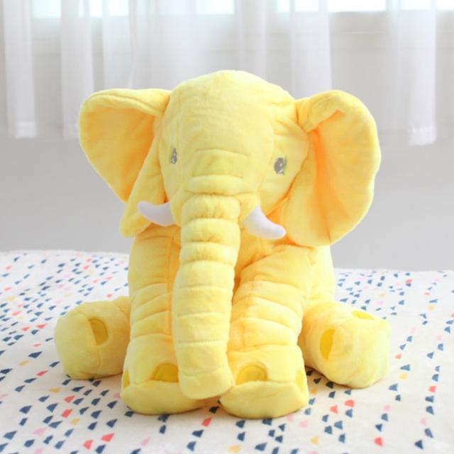 Preços por atacado cliente antigo 5 Cor Elefante Macio Automotivo Do Sono Do Bebê Travesseiro Do Bebê Berço Cama Dobrável Bebê Almofada Do Assento de Carro