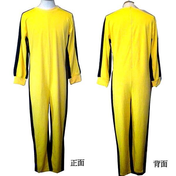 Original High Quality Genuine Bruce Lee Jumpsuit Yellow Tracksuit Kungfu Training Clothes Classic Nunchukus Jeet Kune Do Uniform