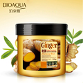 BIOAQUA Hair Care Product Ginger Hair Mask Moisturizing Deep Repair Frizz For Dry Damaged Hair Smooth Hair Conditioner Pcs