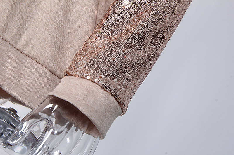 Sequin Long Sleeve T-Shirt 5
