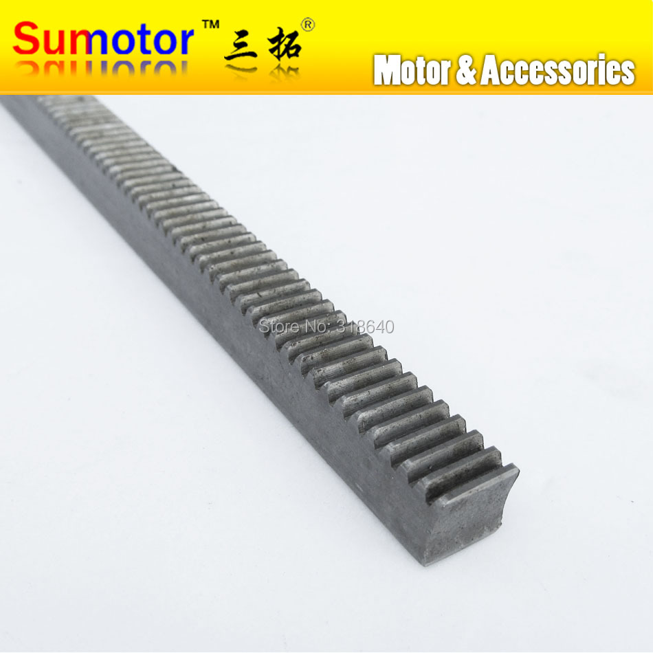 Mod 2 20x20x1000mm spur Gear rack right teeth WIDTH 20MM HEIGHT 20MM Length 1000mm 45# steel Black Oxide CNC parts modulus 2 M2 bevel gear 15teeth 45teeth ratio 1 3 mod 2 45 steel right angle transmission parts diy robot competition m 2