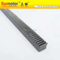 Mod 2 20x20x1000mm spur Gear rack right teeth WIDTH 20MM HEIGHT 20MM LENGTH 1000mm 45# steel Transmission CNC parts modulus 2 M2