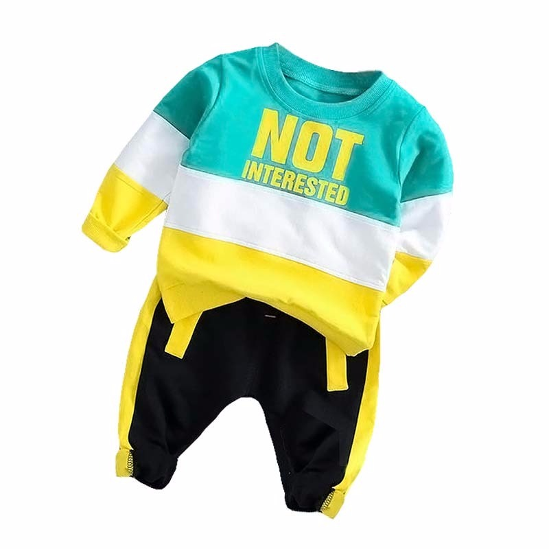 Spring Autumn Baby Boy Girl Clothing Set Cotton Kids Toddler Clothes Letter Sport Suit For Boy Infant Long Sleeve t shirt+pants-in Clothing Sets from Mother & Kids on Aliexpress.com | Alibaba Group