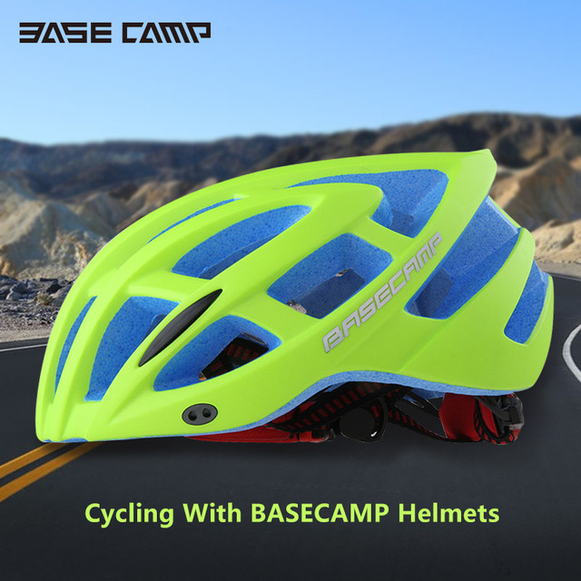 BASECAMP Unisex MTB Bike Cycling Helmet with Removable Brim BC-013 6 Colors