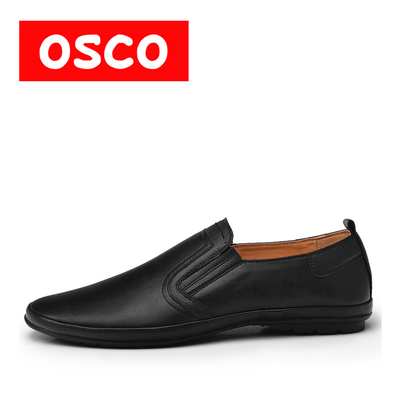 OSCO ALL SEASON New Men Shoes Fashion Men Casual Breathable loafers and drivers Shoes #RU0025 пена монтажная mastertex all season 750 pro всесезонная
