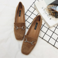 Women Platform Flats 2017 Spring High Quality Genuine Leather Slip-On Casual Oxford Shoes Woman Fashion Shoes For Women