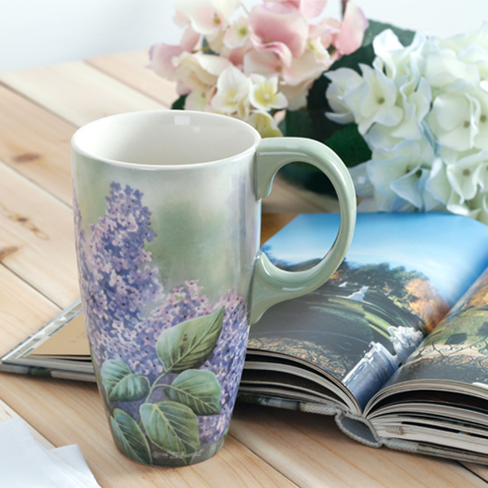 1 Pcs Classic Oil Painting Art Mug Coffee Teacup Ceramics Milk Cafe Mug 500ml Handgrip Art Sun Flower Tea Cup