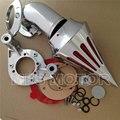 Мотоцикл Хромированные аксессуары для Спайк Чистого Воздуха комплекты для Harley Davidson XL моделей sportstar