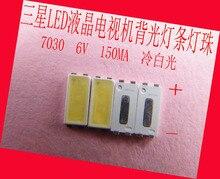 200 cái/lô CHO sửa chữa Samsung tcl TV LCD đèn nền LED Bài Viết đèn Đèn Led SMD 7030 6 v Lạnh ánh sáng trắng đi ốt phát quang