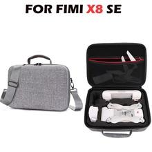 For Xiaomi Fimi X8 SE Drone Bags EVA Hard Skin Carrying Storage Backpack Fi mi X8 SE RC Case Cover Handbag Waterproof Bag Gray