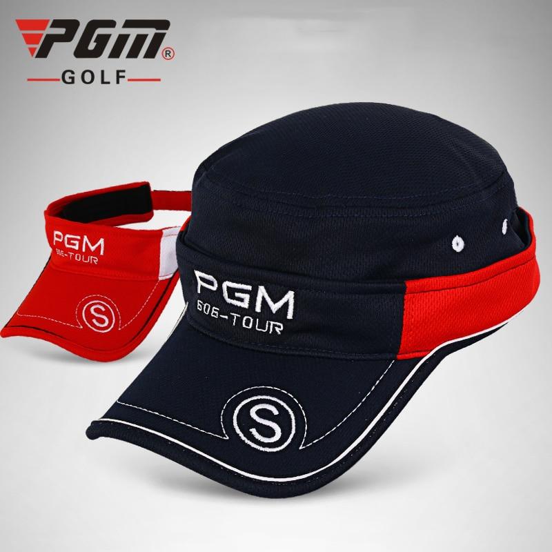 0b1ff383cf4 PGM Golf Hat Sunscreen Golf Cap Unisex One Size Zip Detachable Men s Quick  Dry Golf Caps Summer Travel Sun Visor Hats-in Golf Caps from Sports ...