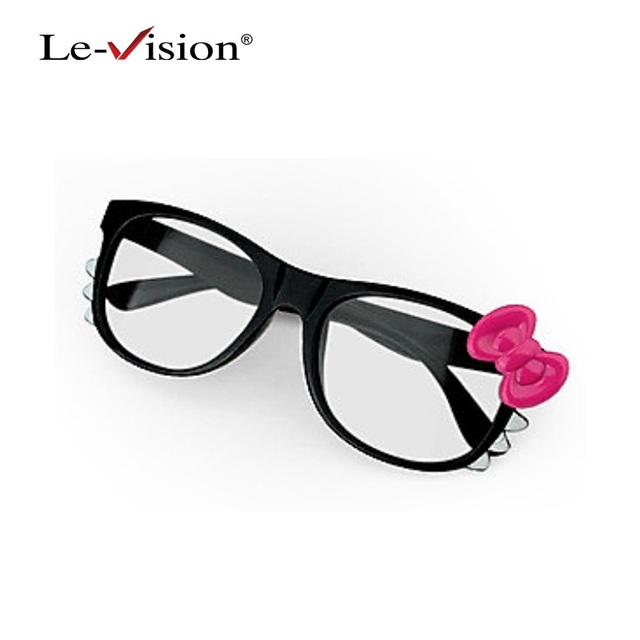 Free Shipping Le-Vision LSZ010 Kids Lovely Kitty Style Passive Polarized 3D Glasses for TVs /RealD Cinema/ Home Theater