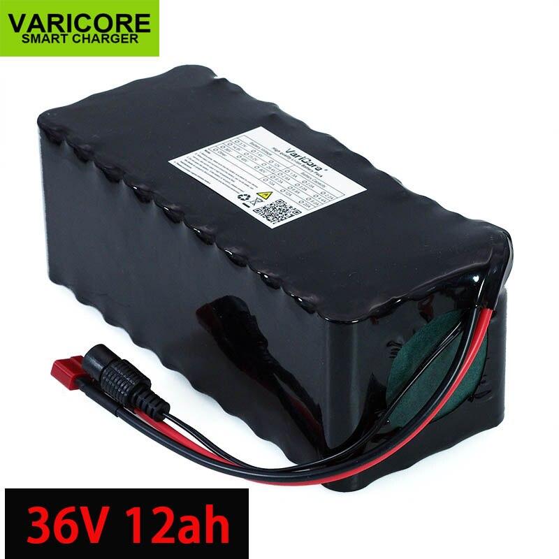 36 V 12Ah 18650 batterie au Lithium haute puissance moto électrique voiture vélo Scooter avec BMS alimentation de secours